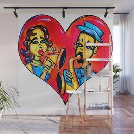 A Musical Love Wall Mural