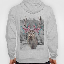 Fluttering Stag Hoody
