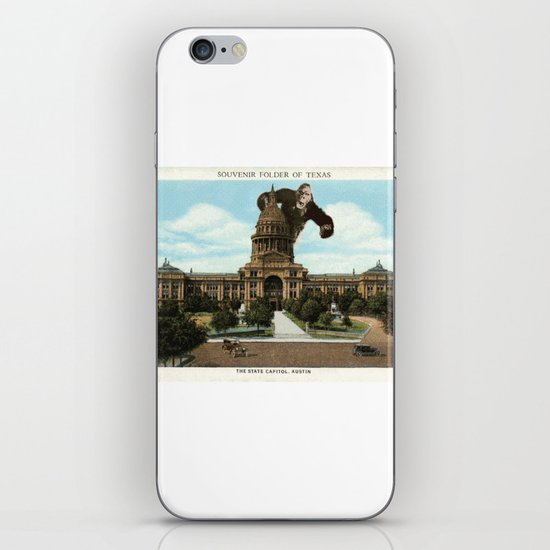 The King of Austin iPhone & iPod Skin