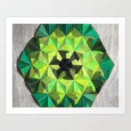 Forest Hues Art Print