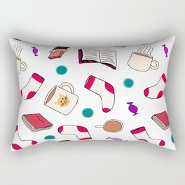 Cozy Night In Rectangular Pillow