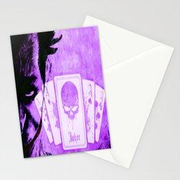 Purple Jokester Stationery Cards