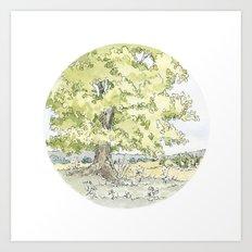 Crop Circle 03 Art Print