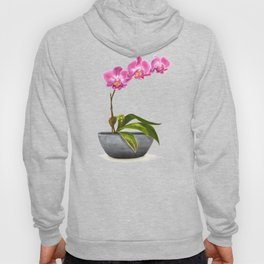 Watercolor Orchid Hoody