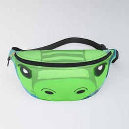 Chibi Bubble Dragon (Blue) Fanny Pack