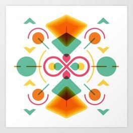 Aprilis Art Print