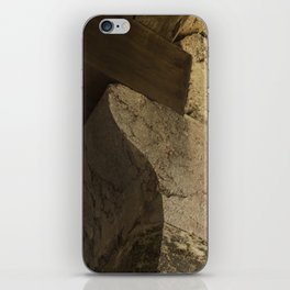 Structural element of ancient greece architecture. (natural version) iPhone Skin