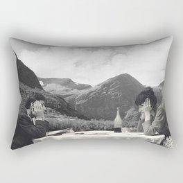 Collage Une femme est une femme - Jean Luc Godard  (1961) Rectangular Pillow