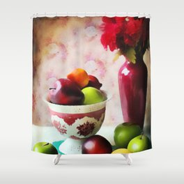 Be Fruitful Shower Curtain