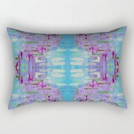 Purple Watercolor Tapestry Rectangular Pillow