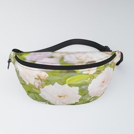 Wild rose flowers Fanny Pack