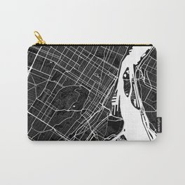 Montreal - Minimalist City Map Carry-All Pouch