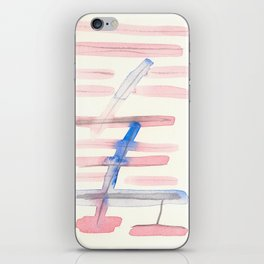June Abstract #9 iPhone Skin