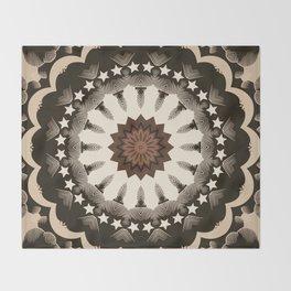 Ouija Wheel of Stars - Beyond the Veil Throw Blanket