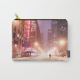 Snowstorm in New York City Carry-All Pouch