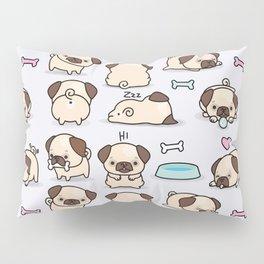 Pugs Pillow Sham