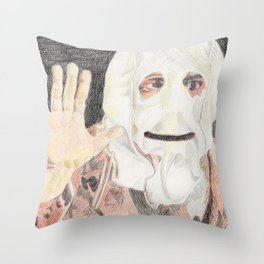 Surprise! Throw Pillow