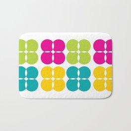 Colorful Bejeweled Circles Bath Mat