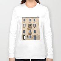 venice Long Sleeve T-shirts featuring VENICE TOUR by Je Suis un Lapin