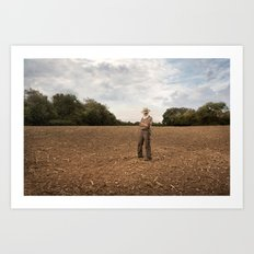Farmer 2 Art Print