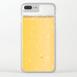 beer lovers Clear iPhone Case