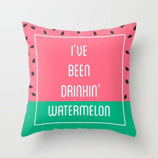 Beyonce Said It Best Throw Pillow