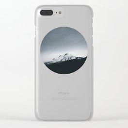 Mt. Hood x Oregon Clear iPhone Case
