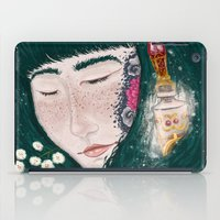 perfume iPad Cases featuring Hair Perfume by Luna Kirsche