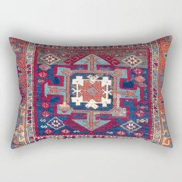 Kurdish Malatya East Anatolian Rug Print Rectangular Pillow