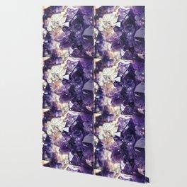 Crystal gemstone - ultra violet Wallpaper