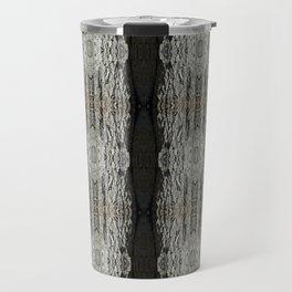 Oak Tree Bark Vertical Pattern by Debra Cortese Designs Travel Mug