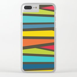 Colorful Way Clear iPhone Case