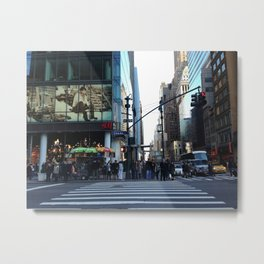 FIFTH AVE Metal Print