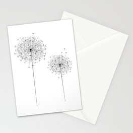 Two  Dandelion Stationery Cards