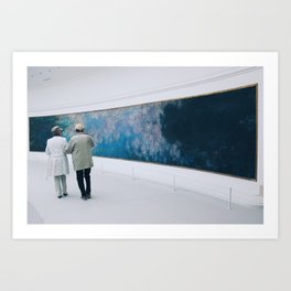 #ParisPostcards || Art-Lovers Art Print