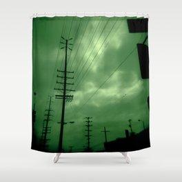 Urban Lines Shower Curtain