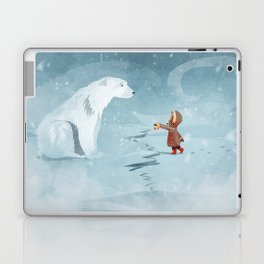 Hooded Stranger Laptop & iPad Skin