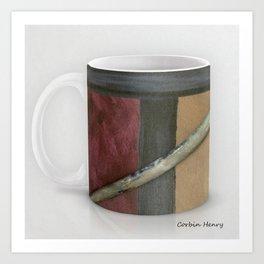 Artist Brush Coffee Mug Modern Art Print Art Print