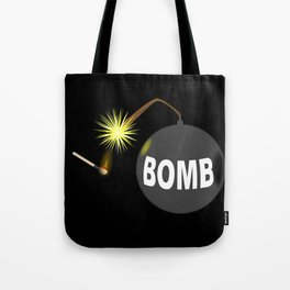Bomb and Match Tote Bag