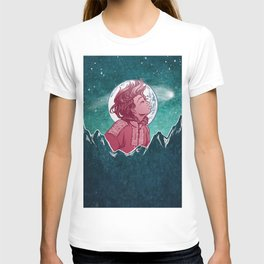 The Astronomer Who Met The North Wind T-shirt