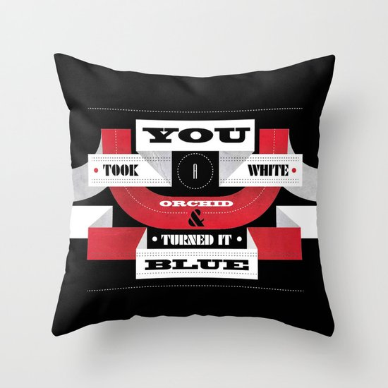 "Lyric Love - ""STRIPES"" Throw Pillow"