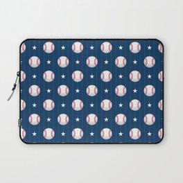 Baseball Pattern   Catcher Home-Run Team Pitcher Laptop Sleeve