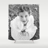 child Shower Curtains featuring Child by JJ's Photography