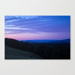 The Yarra Valleys Blue Mountains Canvas Print