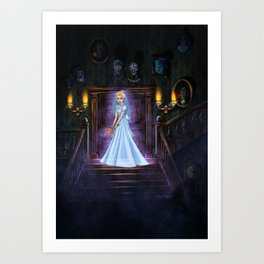 A Brides Regret by Topher Adam 2018 Art Print