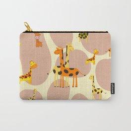 Giraffes Carry-All Pouch