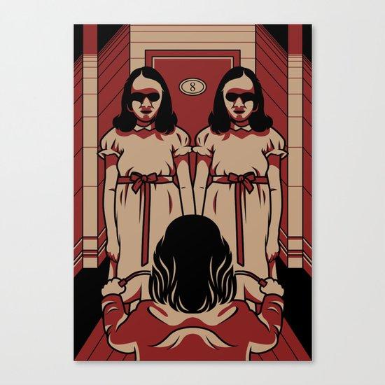 Dark Symmetry Canvas Print