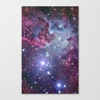 galaxy Canvas Prints featuring Nebula Galaxy by Directapparelco