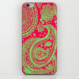 Paisley 4 iPhone Skin