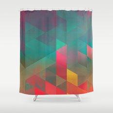 byych fyre Shower Curtain